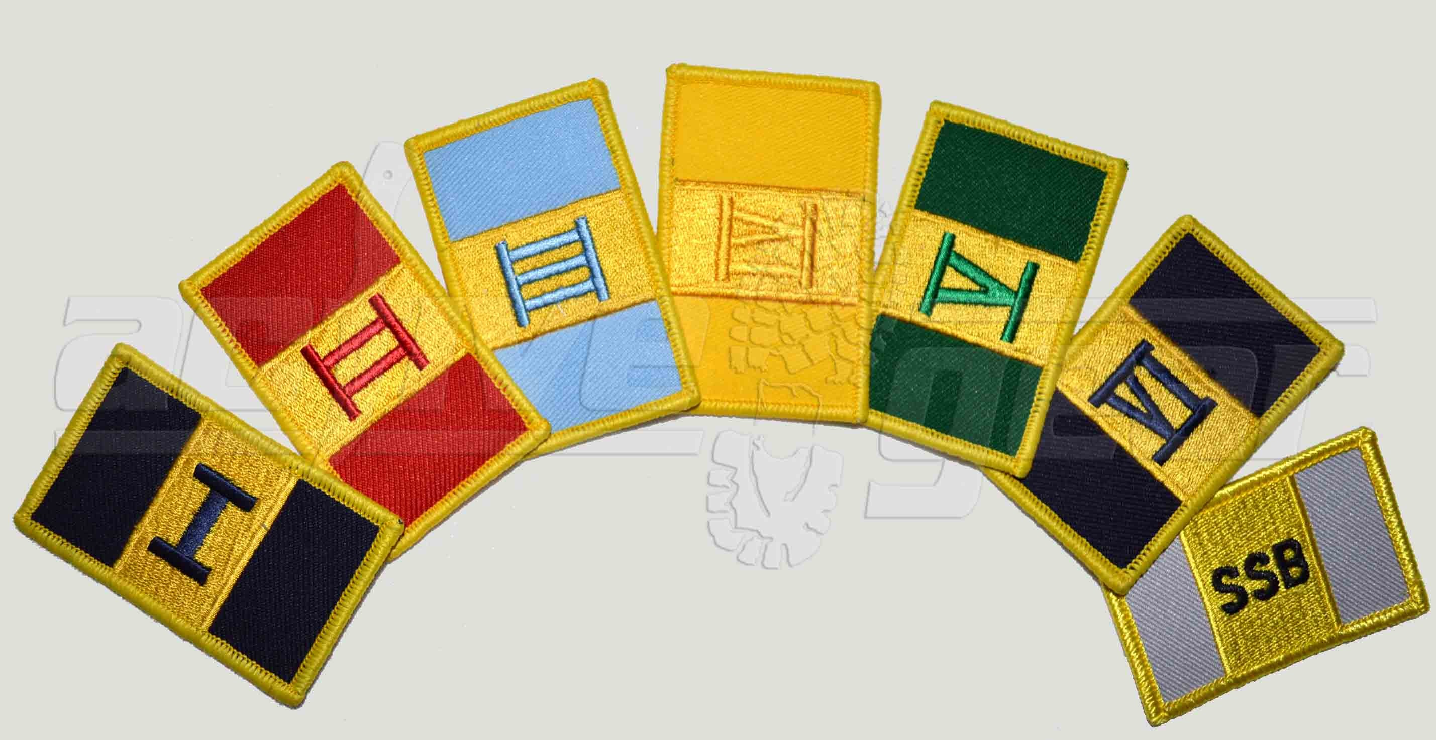Battalion Patches