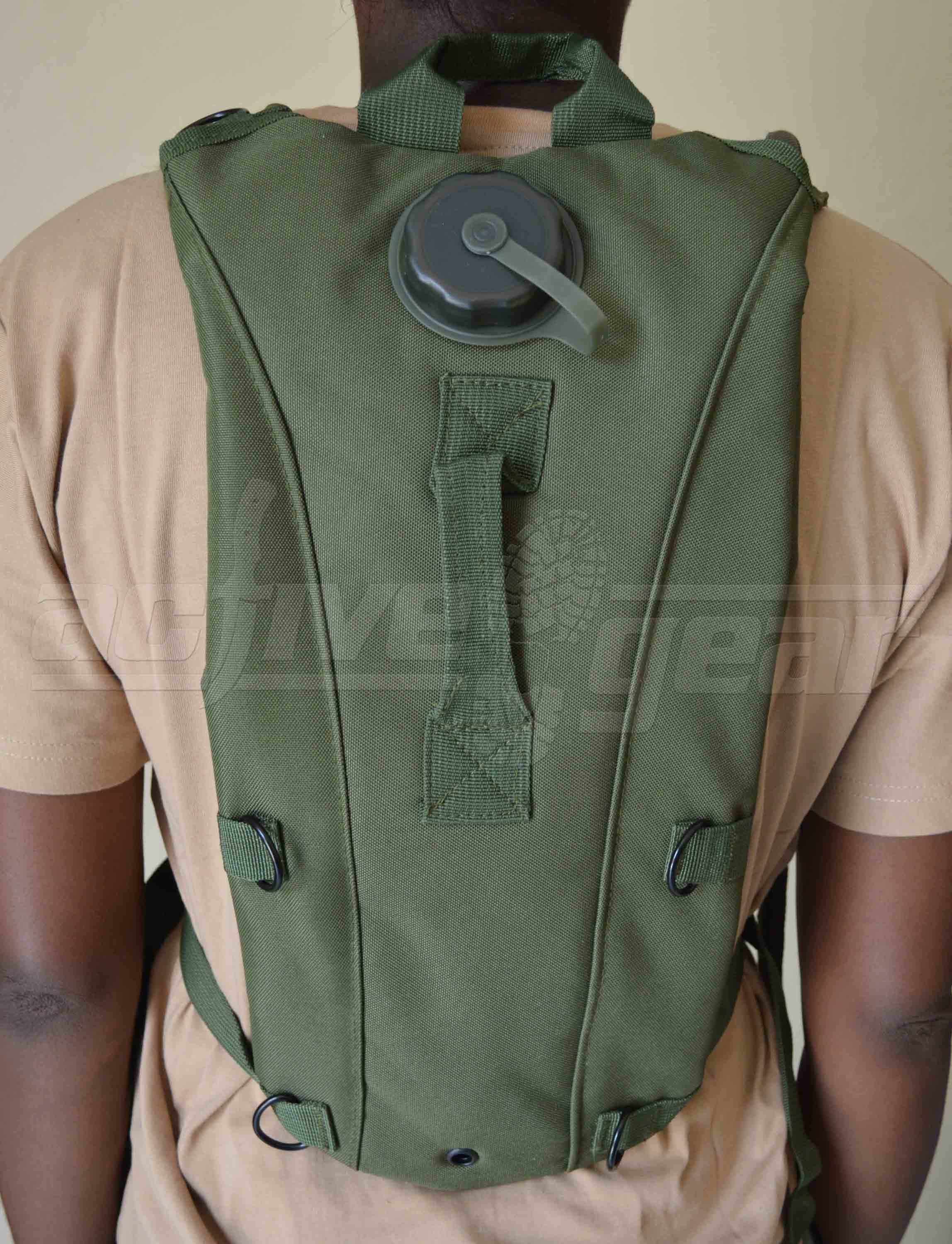 Olive Green Hydration System