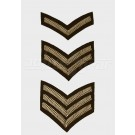 Chevrons - Embroidered