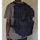 Black Weekender Backpack