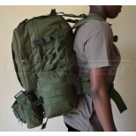 Olive Green Airsoft Combat Rucksack